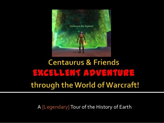 A [Legendary] Tour of the History of Earth