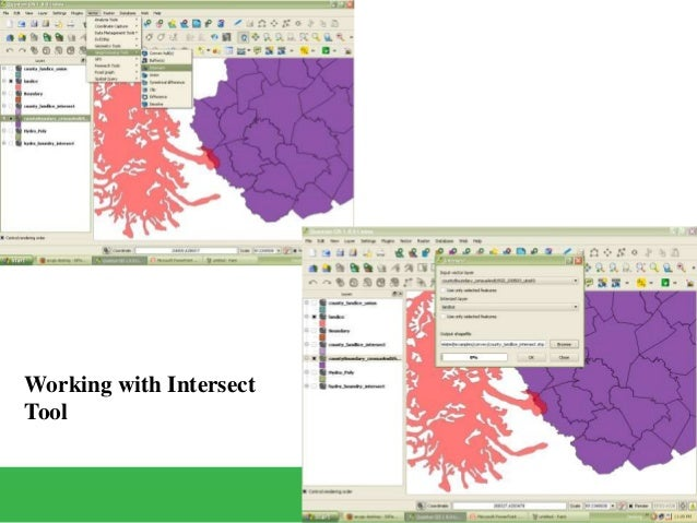 GEOPROCESSING IN QGIS