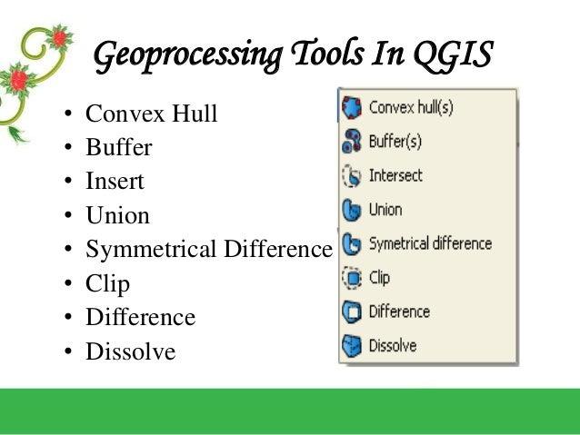 GEOPROCESSING IN QGIS
