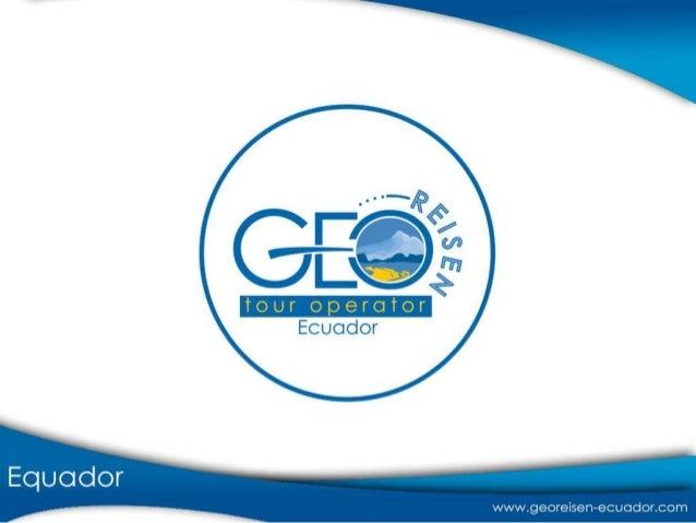• Equador: é um país que está dividido em 4 regiões: a Cordilheira dos Andes, a Amazônia, a Costa e as Ilhas Galápagos. • ...