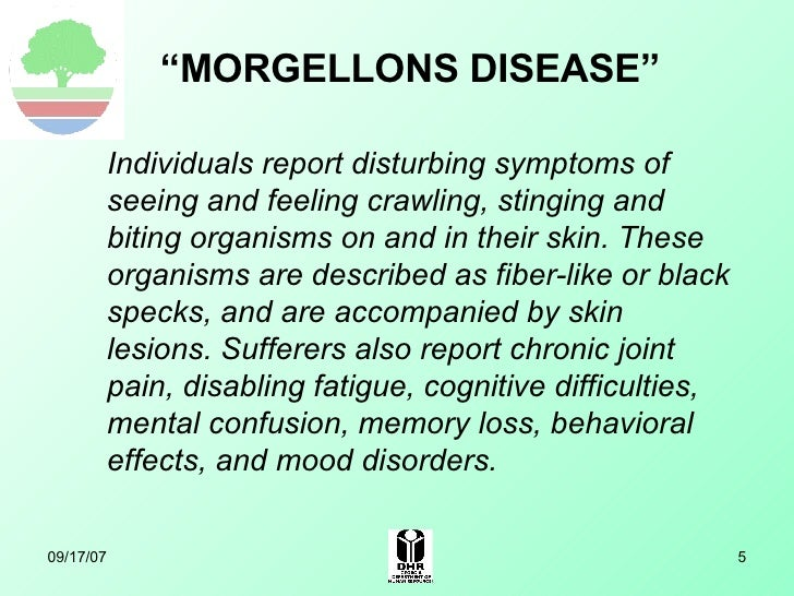List of Synonyms and Antonyms of the Word: Morgellons Medications