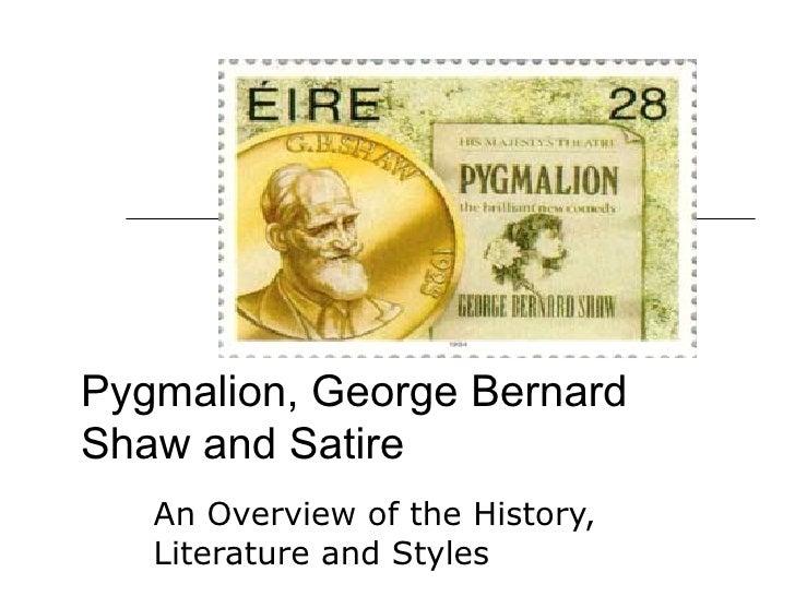 exaggeration in pygmalion