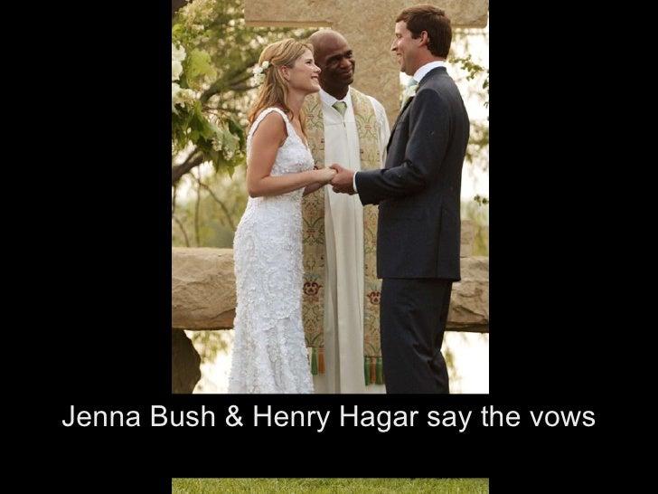 ul><li>Jenna Bush with George Bush