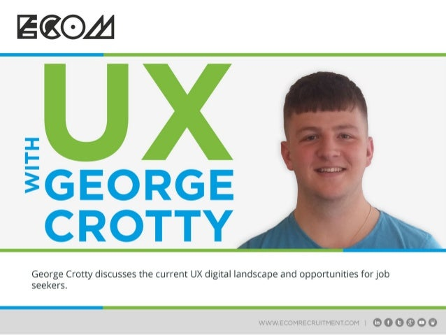 UX with George Crotty