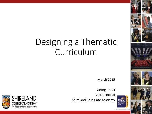 Eda 561 curriculum planning