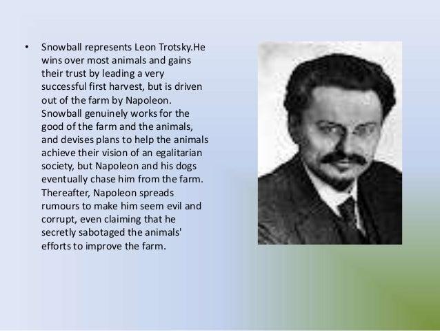 leon trotsky and snowball comparison