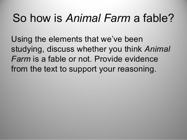 Orwells Animal Farm VS' The Russian Revolution - PowerPoint PPT Presentation