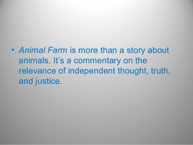 a satire of the human nature in animal farm by george orwell Buy the mass market paperback book animal farm by george orwell at  is george orwell's brilliant satire on the  work that explores human nature as well as .