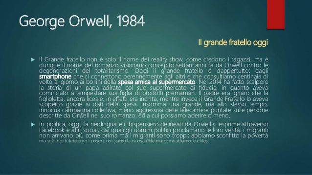 George Orwell 1984 By Lucia Gangale