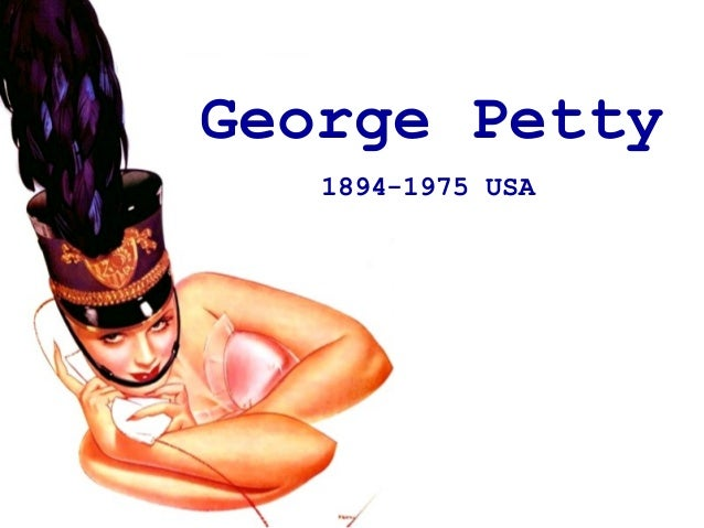 George Petty 1894-1975 USA