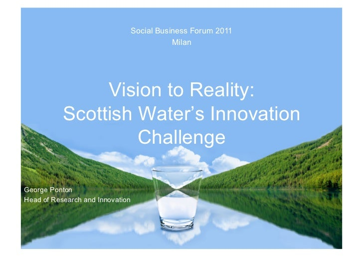 Social Business Forum 2011                                             Milan                Vision to Reality:           S...
