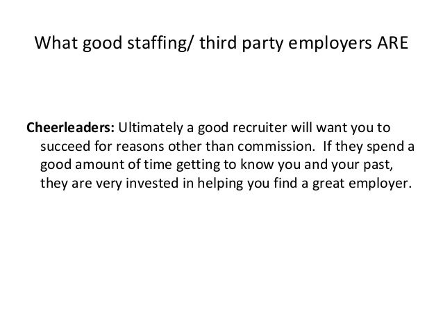 How to Successfully Work With a Recruiter