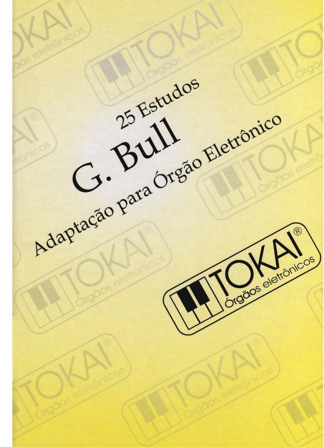 · Georges BulI   25 ESTUDOS   Adaptados para órgão por Amador Rubio