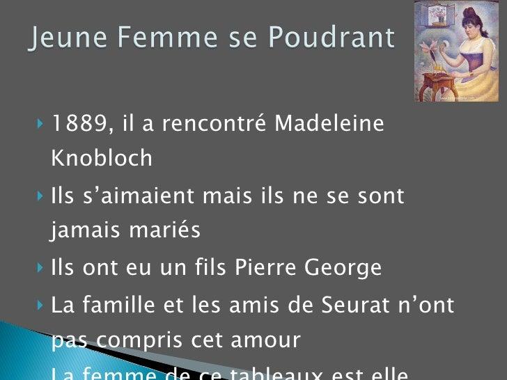 <ul><li>1889, il a rencontré Madeleine Knobloch </li></ul><ul><li>Ils s'aimaient mais ils ne se sont jamais mariés </li></...