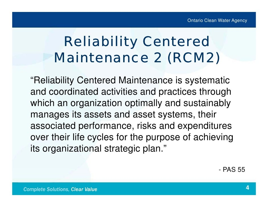 thesis on reliability centered maintenance 1 application of reliability-centered maintenance in facility management by jorge martinez a thesis submitted to the faculty of worcester polytechnic institute.