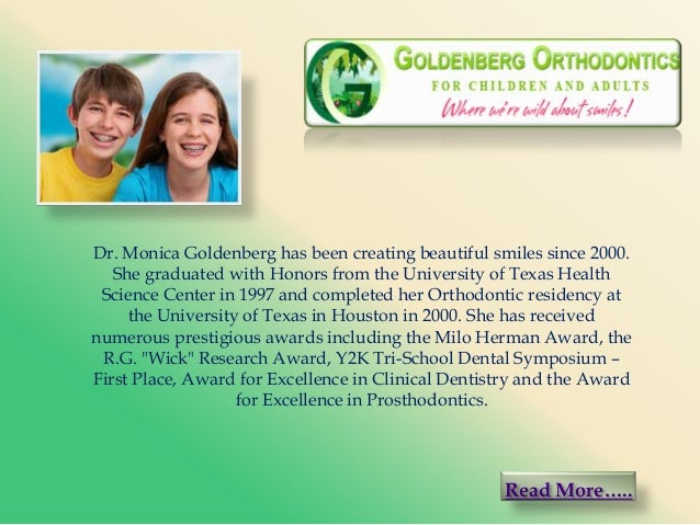 Dr. Monica Goldenberg has been creating beautiful smiles since 2000. She graduated with Honors from the University of Texa...