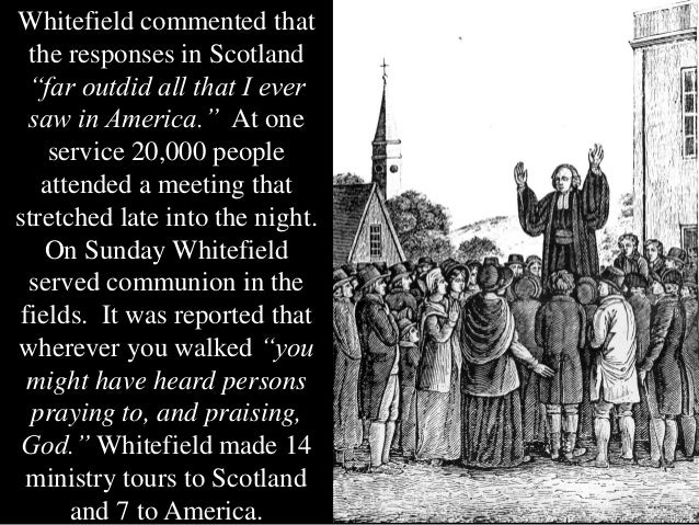 whitefield wesley predestination Even john wesley watered it down to the point to the end of his days whitefield did not change his belief concerning predestination (henry, 1956) whitefield.