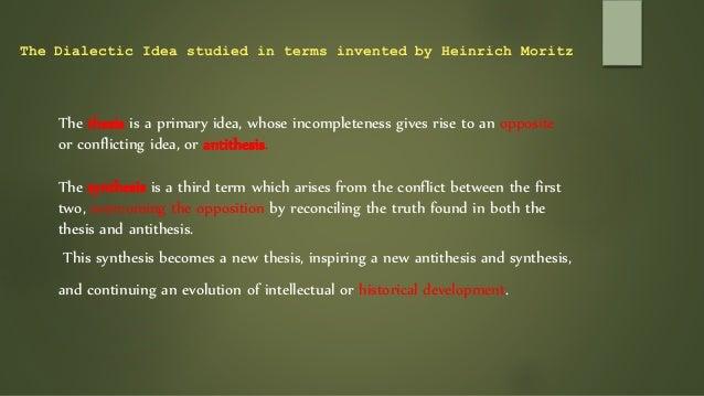georg wilhelm friedrich hegel thesis antithesis synthesis
