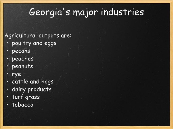 What Are Natural Resources In Georgia