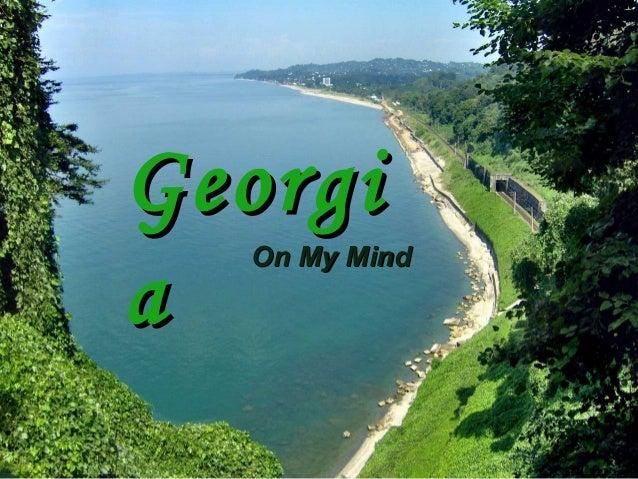 Georgi Georgia a On My Mind A especial place
