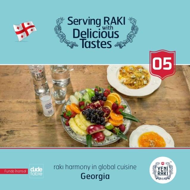 05 Funda İnansal rakı harmony in global cuisine Georgia