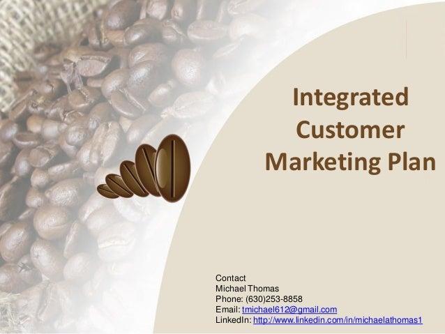 Georgia Coffee presentation: Integrated Customer Marketing