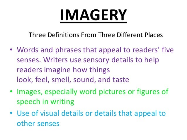use of imagery and figurative language Definition of figurative language figurative language uses figures of speech to be more effective, persuasive, and impactful figures of speech such as metaphors, similes, and allusions go beyond the literal meanings of the words to give readers new insights.