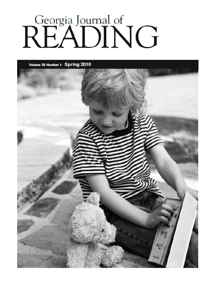 Georgia journal of reading