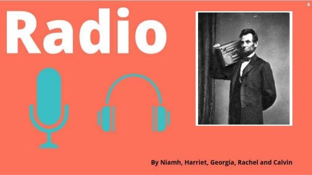 Georgia radio presentation