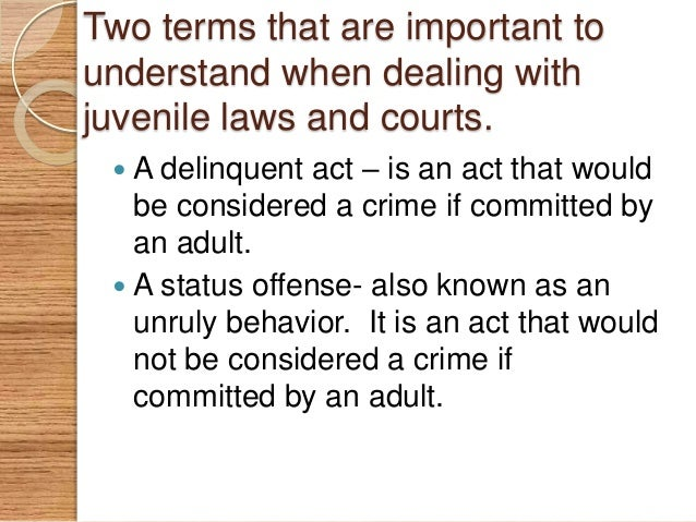 major similarities differences between juvenile and adult justice system Between juvenile and adult justice by jeffrey a butts and ojmarrh mitchell juvenile justice system was designed to be quite different from the criminal jus.