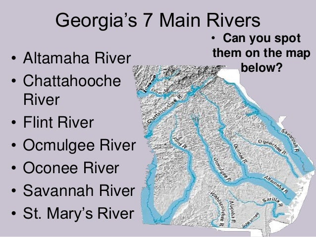Georgia's Rivers