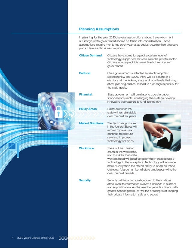 Technology strategic plan