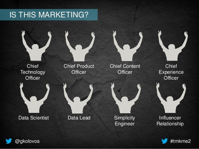 Chief Technology Officer Chief Experience Officer Chief Product Officer Chief Content Officer Data Scientist Data Lead Sim...