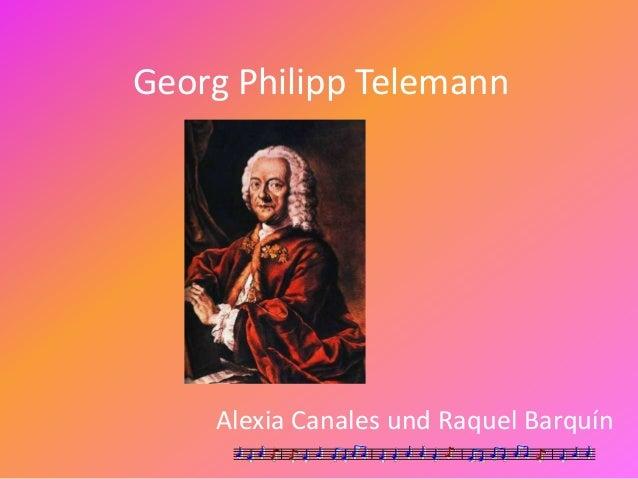 Georg Philipp Telemann Alexia Canales und Raquel Barquín