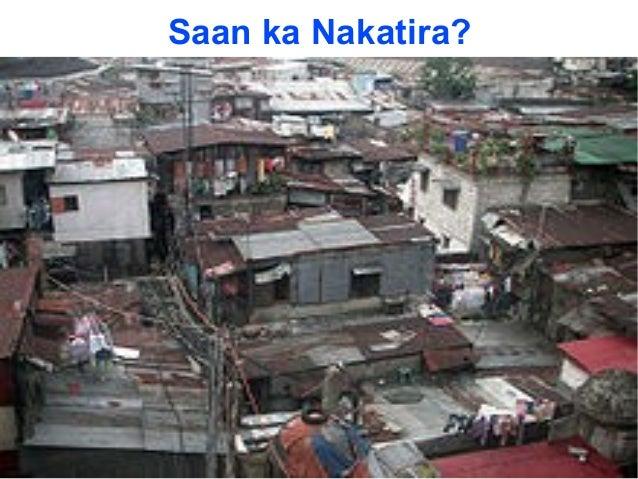 Saan ka Nakatira? Sa condo? Sa isang kubo sa bukid? O sa lugar na gaya nito? Sa subdibisyon kaya?