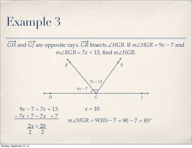 Section 1. 1 undefined terms: point, line, and plane point line.