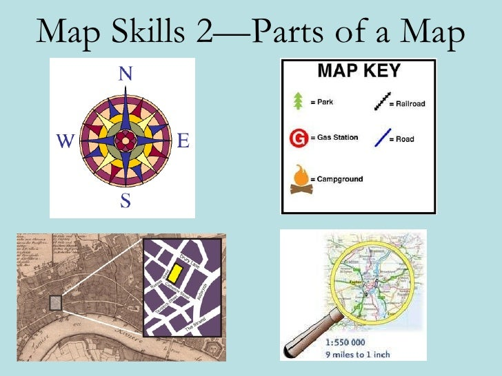 Geo Skills 2 - Parts of a Map