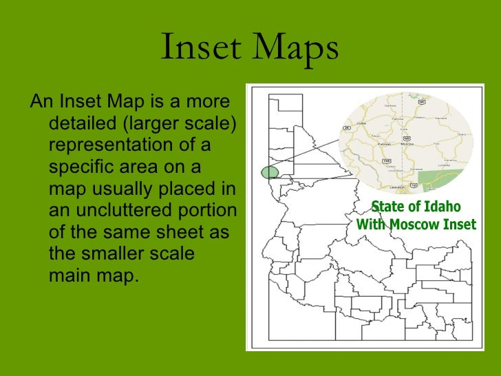 What Is An Inset Map What Is An Inset Map | Color 2018