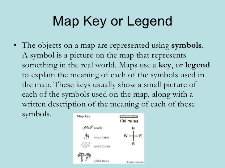 Geo skills 2 -parts of a map
