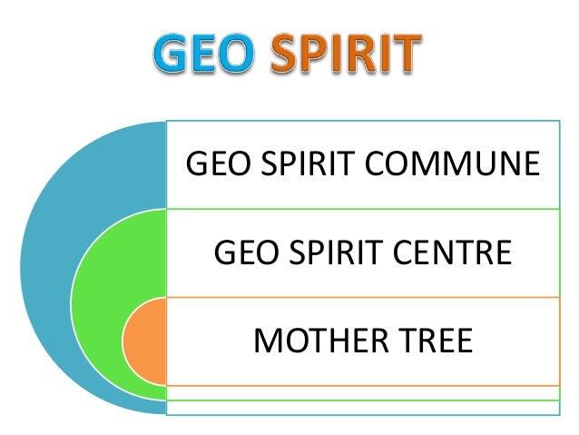 GEO SPIRIT COMMUNE GEO SPIRIT CENTRE MOTHER TREE