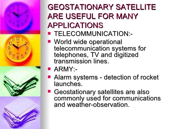 geostationary satellite essay Launches take place at the satish dhawan space centre on sriharikota island,  near chennai the master control facilities for geostationary satellite station.