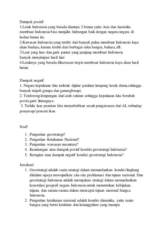 Geostrategis Indonesia