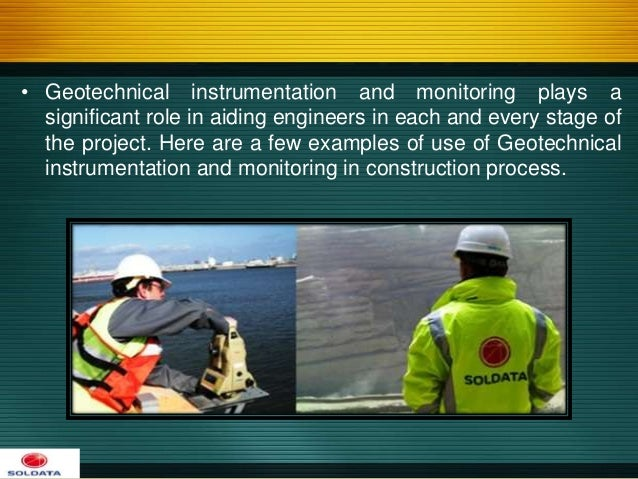 geotechnical instrumentation Transportation research number e-c129 october 2008 use of inclinometers for geotechnical instrumentation on transportation projects state of the practice.