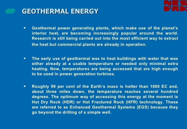 geothermal research paper Research projects / proceedings / papers click here to access full research page the geothermal smart bridge sponsor: oklahoma department of transportation.