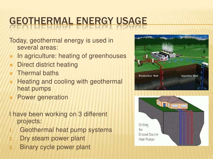 geothermal energy essay Geothermal power creates jobs and spurs economic growth  geothermal  energy is a clean, renewable resource that provides energy in the us and  around.