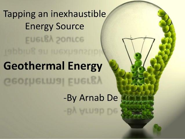 Origin of Geothermal Energy