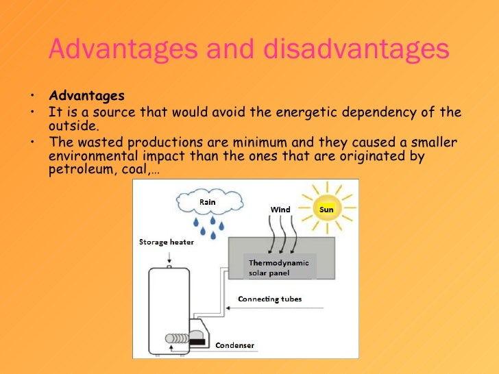 essay advantages and disadvantages of different energy sources Wind energy is the energy extracted wind flow to produce electrical or mechanical energy this essay looks at advantages and disadvantages of wind energy.