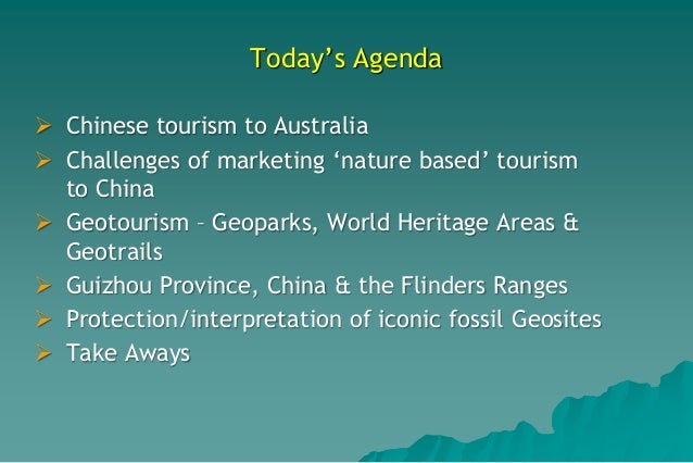 Marketing Australia's 'Scenic Areas', SEGRA 2017 Slide 2
