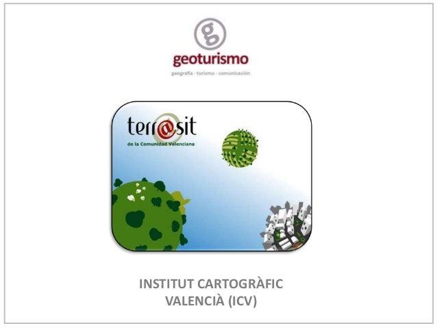 INSTITUT CARTOGRÀFIC    VALENCIÀ (ICV)