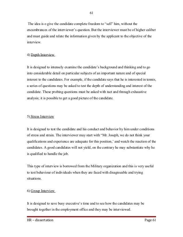 HR U2013 Dissertation Page 60 60; 61.